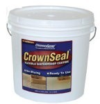Crownseal Covers Approximately 36 Square Feet Per 2-gallon Container