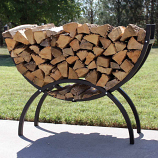 Crescent Log Rack
