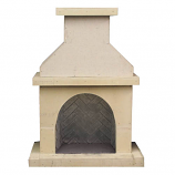 Vent Free Outdoor Fireplace Surround