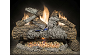 Natural Gas Ventless Log & Burner Sets