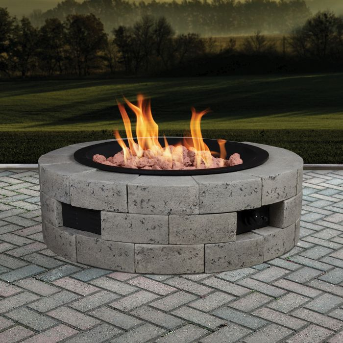 Bond Mfg 66926 Model 66926 Outdoor Gas Fireplace