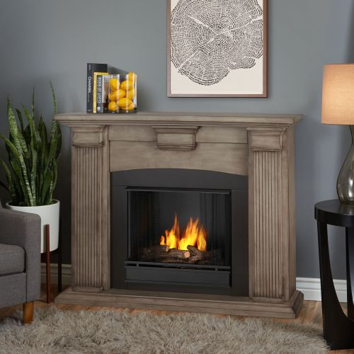 Adelaide Indoor Ventless 7920-DBW | Built-In Ethanol Fireplaces