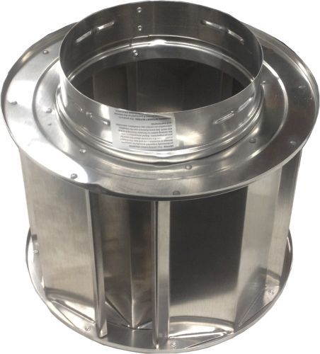 Aluminum High-Wind Chimney Cap - 6 inch