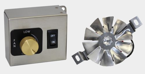 12V Fan Motor with Blade and Bracket - 01-031