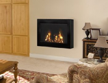 Anywhere Fireplace 90200 SoHo Indoor Wall Mount Fireplace - Black