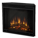 Black Electric Firebox Insert By Real Flame