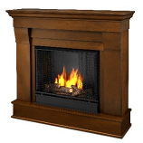 Chateau Espresso Gel Fuel Fireplace