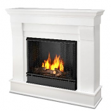 Chateau Gel Fuel White Fireplace