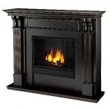 Ashley Gel Fuel Black Wash Fireplace