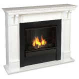 Ashley Gel Fuel White Fireplace
