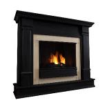 Silverton Black Gel Fuel Fireplace