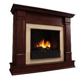 Silverton Dark Mahogany Gel Fuel Fireplace