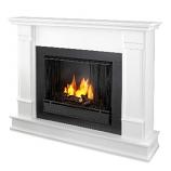 Silverton White Gel Fuel Fireplace