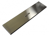 HPC 60 Inch Linear Trough Stainless Steel Firepit Cover