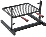 Rome Adjustable Cooking Grate for Grilling in Fireplace Hearth