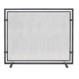 Sinclair Single Panel Screen-Natural Iron