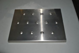 Rectangular Grill Oven Plate by Grill Innovations for Smoking Baking & Roasting