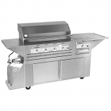 Lazy Man Outdoor Custom Cart Stainless Steel Propane Gas Barbecue Grill
