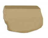Two Dogs 40-inch Grill Top Cover - Khaki Polyester
