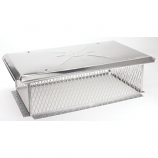 Gelco 5/8 inch mesh Chimney Cap 8H x 17W x24L
