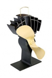Caframo Limited Ecofan Ultrair, Black with Gold Blade
