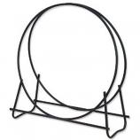 Black 40 inch Diameter Log Hoop