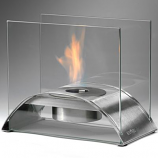 Eco-Feu Sunset Stainless Steel Bio-Ethanol Tabletop Fireplace