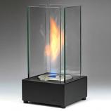 Eco-Feu Cartier Matte Black Bio-Ethanol Tabletop Fireplace