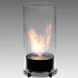 Eco-Feu Juliette Gloss Black Bio-Ethanol Tabletop Fireplace