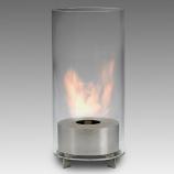 Eco-Feu Juliette Stainless Steel Bio-Ethanol Tabletop Fireplace