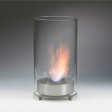 Eco-Feu Romeo Stainless Steel Bio-Ethanol Tabletop Fireplace