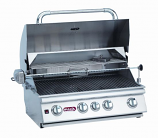 30 Inch Stainless Steel Bull BBQ Angus 4-Burner Barbecue Grill � Natural Gas