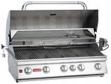 38 Inch 5-Burner Bull BBQ Brahma Stainless Steel Propane Gas Grill
