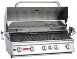 38 Inch 5-Burner Bull BBQ Brahma Stainless Steel Natural Gas Grill