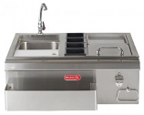 "Bull Outdoor 30"" Bar Center with Sink"