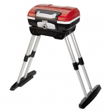 Texsport Petit Gourmet Portable Gas Grill with Collapsible VersaStand Red