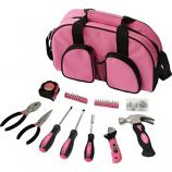 69 Pc. Womens Essential Tool Kit, Pink