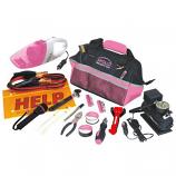 54 Piece Roadside Tool Kit- Pink