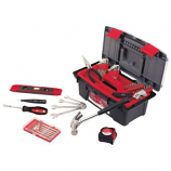 53-Piece Household Tool Kit with Tool Box