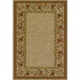 Orian Texture Weave Rugs, Flame Resistant, Camille Flax
