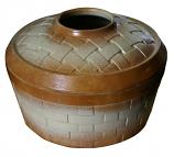 Basket Weave Mocha Sand 2.5 Qt. Steamer