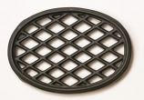 Black Matte Lattice Trivet By John Wright Hearth