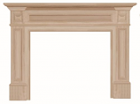 "The Classique 50"" Fireplace Mantel - Unfinished"