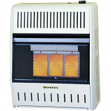 15k BTU Liquefied Petroleum Manual Infrared Wall Heater