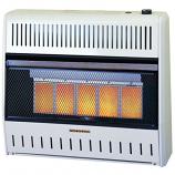 25k BTU Liquefied Petroleum Manual Infrared Wall Heater