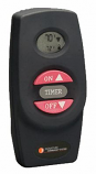 Hand-held Remote Control Transmitter with On-Off and Flame Adjustment