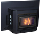 Countryside Series (Corn, Biomass) Fireplace Insert with Shroud