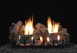 """Super Wildwood 9 Pieces 24"""" Refractory Log Set- LOGS ONLY"""