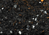 Crushed Decorative Glass - Black Polished