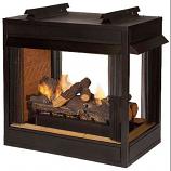 "Premium VF 36"" Peninsula Fire Box - Flush Face"